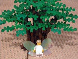 Engel des Herrn unter einem Baum