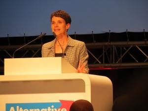 Frau Petry BPT Bremen;  Bildrechte: Frederick Kühne