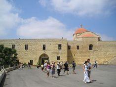 Sankt Georgs Kloster in Syrien  Quelle gemeinfrei