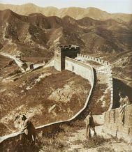 Chinesische Mauer 1907