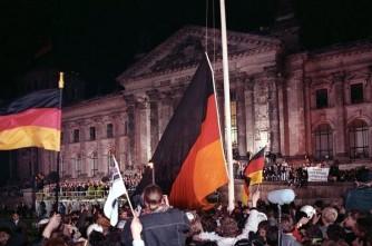 Deutsche Einheit in Berlin 1990