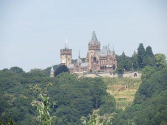 Festung Ehrenbreitstein gegenüber Koblenz am Rhein