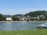 Blick auf Linz am Rhein