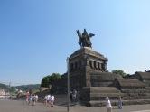 Kaiser Wilhelm Statue Deutsches Eck Koblenz