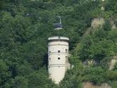 Turm der Festung Ehrenbreitstein vis a vis Deutsches Eck