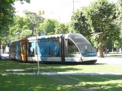 Tram in Straßbourg (F)