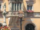 Rathaus Ville d´Obernai mit Corps du Garde