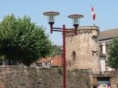 Ville d´Obernai alte Stadtmauer