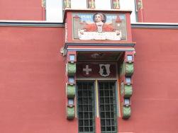 Basel Rathaus Balkon 1501-1901