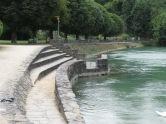 Rheinufer Gemeinde Laufen (Schweiz)