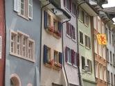 Fassaden Gemeinde Laufen am Rhein (Schweiz)