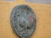 1272 - 2004 Zum Roten Goggelhahn - Fassadendetail Konstanz