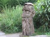 Holzskulptur Schlosspark Mainau
