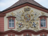 Wappendetails Schloss Mainau am Bodensee